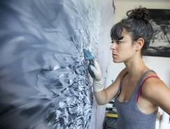 Zaria Forman令人惊叹的指画艺术