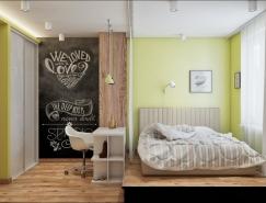 现代舒适的卧室设计欣赏