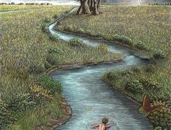 旅程和目的地:Douglas Smith插画
