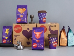Gravity咖啡包装设计