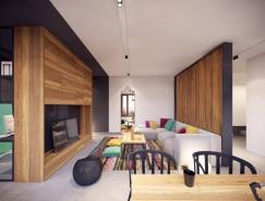 华沙现代简约公寓设计