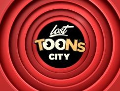 Lost Toon's City游乐场视觉形象设