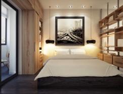 3个国外40平米小公寓设计