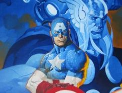 Chris Stevens超级英雄插画欣赏