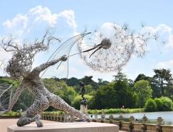 飛舞的精靈: Robin Wight不鏽鋼絲雕塑藝術