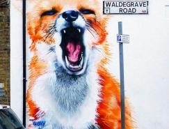 英國街頭藝術二人組Irony & Boe作品欣賞