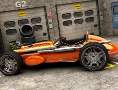 Bo Zolland 3D汽车插画欣赏