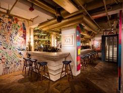 街頭塗鴉藝術風格的香港BiBO餐廳設計