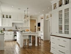 24个国外白色厨房设计欣赏