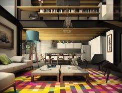 21个国外时尚舒适的现代客厅设计欣赏