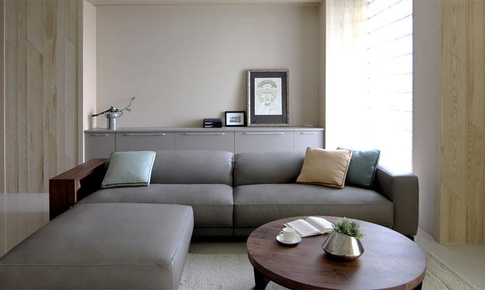 最大化的存储空间:简约风格的现代住宅设计