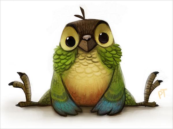 piper thibodeau可爱的卡通动物角色设计