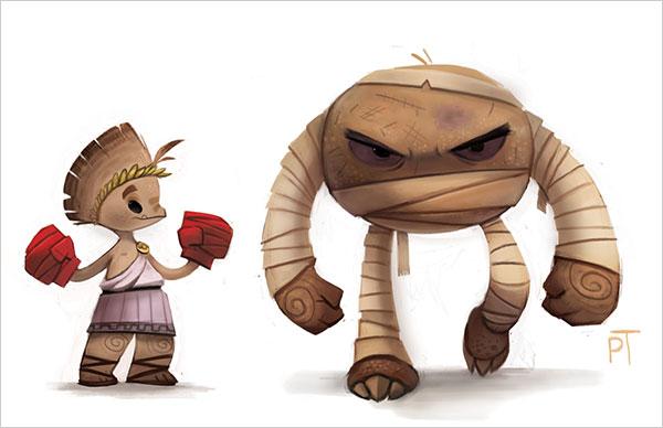 piper thibodeau可爱的卡通动物角色设计(4)