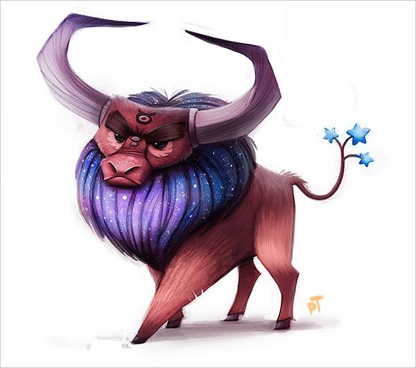 thibodeau可爱的卡通动物角色设计(4)