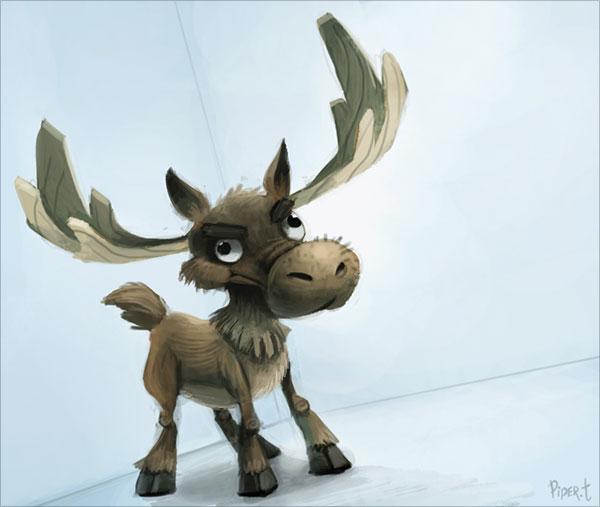 piper thibodeau可爱的卡通动物角色设计(5)