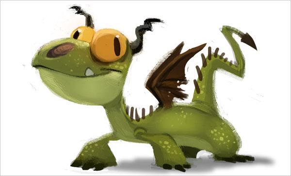 thibodeau可爱的卡通动物角色设计(7)