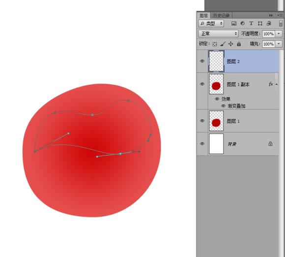 Photoshop制作晶莹剔透的红色樱桃
