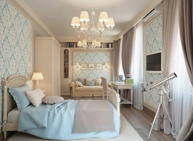 彼得堡欧式风格公寓欣赏