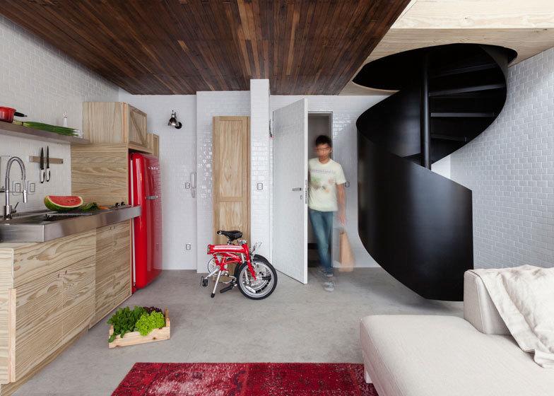 圣保罗36平米loft小公寓设计