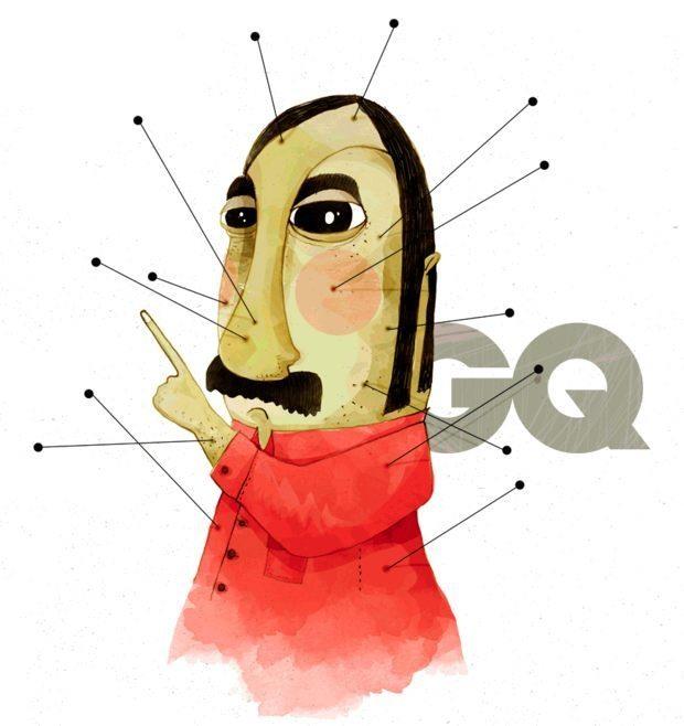 Ignacio Z. Huizar卡通角色插画欣赏