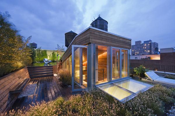 顶层loft公寓设计