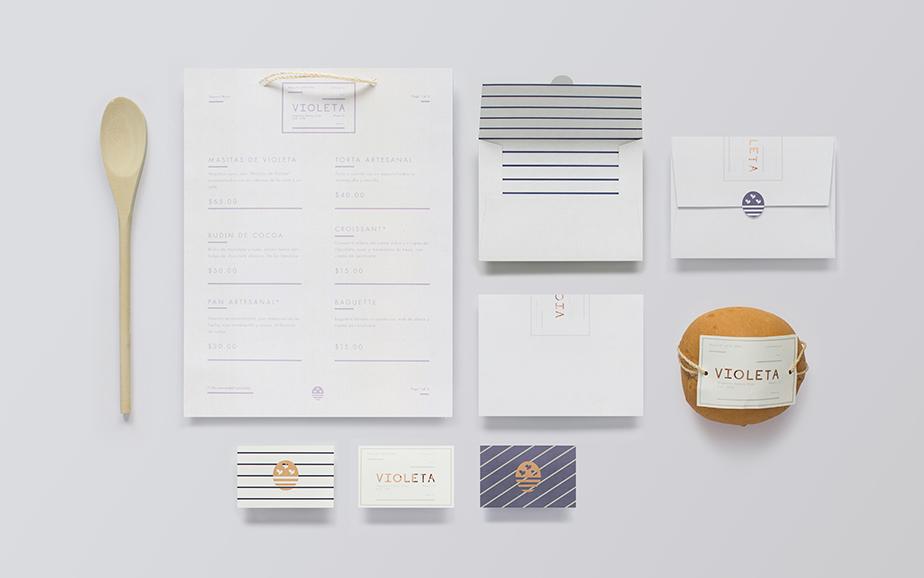 Violeta面包店品牌形象设计欣赏