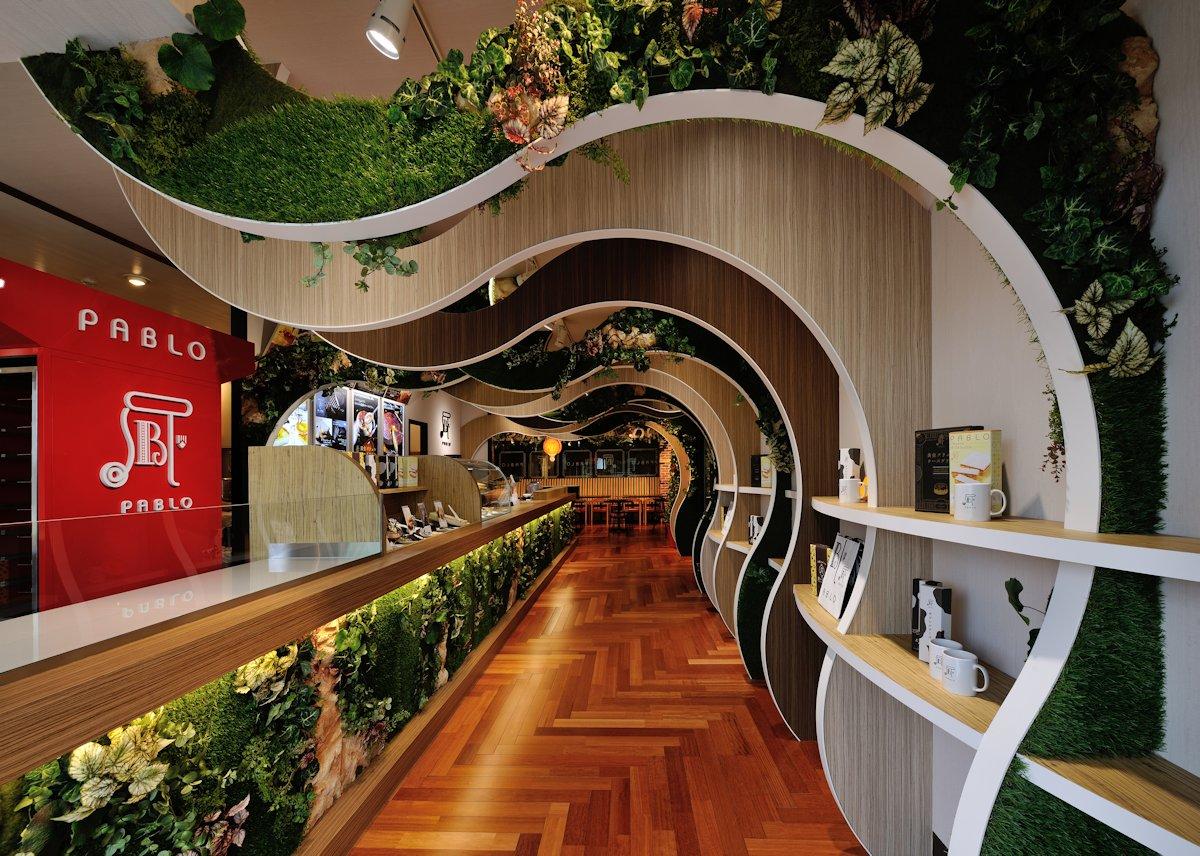 日本横滨pablo起司蛋糕店设计 设计之家
