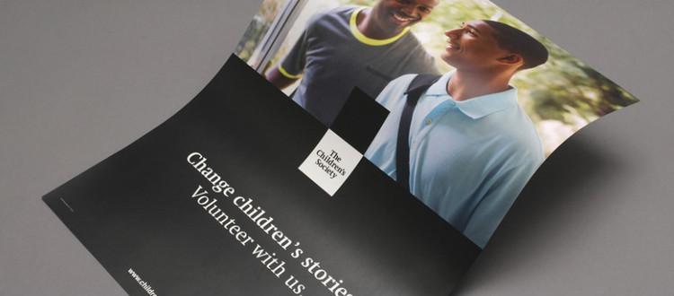 儿童慈善机构的黑与白