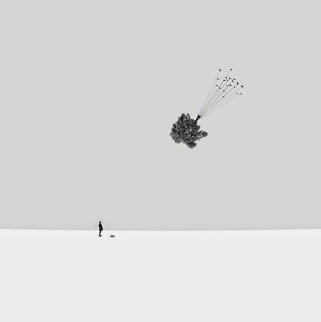 Hossein Zare极简超现实风格摄影作品