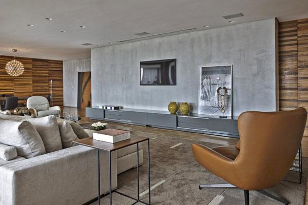 巴西Belo Horizonte LA公寓设计