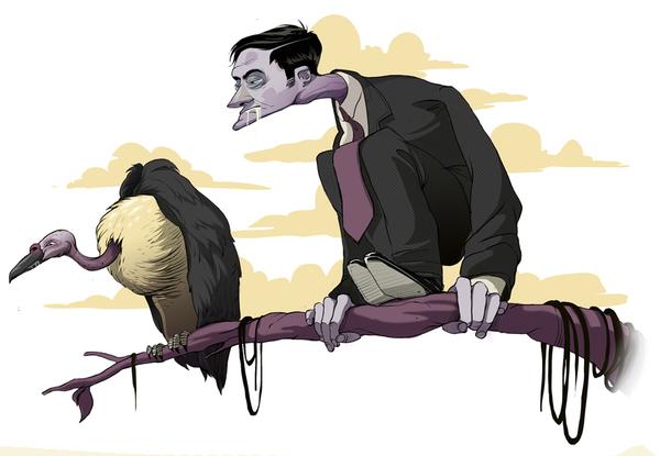Baran Sarigul奇思妙想的插画作品欣赏