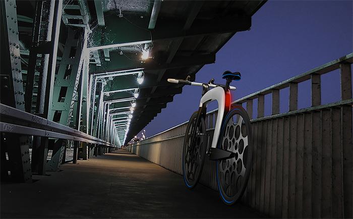 极简时尚的nCycle智能电动自行车