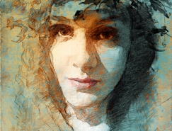 Marcello Vargas-Machuca Puell複古風格人物肖像