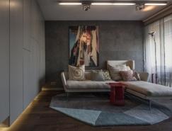 布达佩斯40平米时尚现代的小公寓设计
