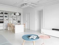 台北极简纯白公寓设计