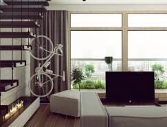 3个简约个性的时尚公寓设计