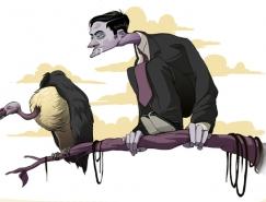 Baran Sarigul奇思妙想的插畫作品欣賞
