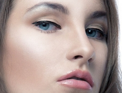 PhotoShop美女人像皮肤精细修图教程