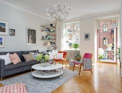 哥德堡114平米北欧风格公寓,体育投注
