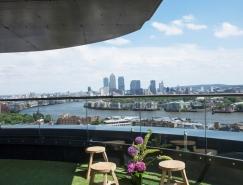鸟瞰城市风光:伦敦顶层复式公寓