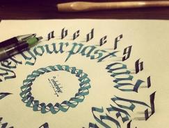 逼真的立体感:创新的3D文字设计