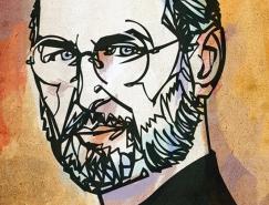 Kyle T. Webster名人肖像插画欣赏