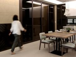 最大化的存儲空間:簡約風格的現代住宅設計