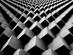 城市几何: Andrés Gallardo美丽的建筑摄影