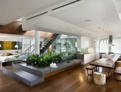 漂亮的楼顶花园:曼哈顿顶层Loft公寓设计