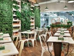 圣彼得堡Obed bufet自助餐厅空间设计