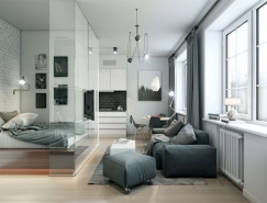3个35平米精致小户型公寓皇冠新2网