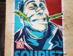 法国艺术家RNST街头涂鸦作品欣赏
