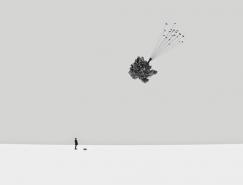 Hossein Zare極簡超現實風格攝影作品