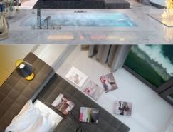 现代华丽的卧室设计欣赏
